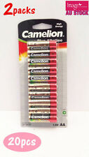 2x Pack of 10pcs Camelion AA Batteries Plus Alkaline 1.5V High Energy