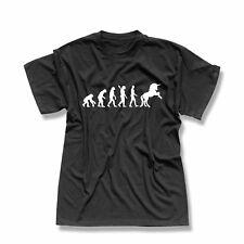 T-Shirt Evolution Einhorn Unicorn Beauty Pferd Prinz CSD 13 Farben Herren XS-5XL