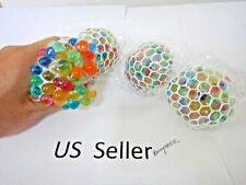 "3""  Squishy Mesh sensory stress reliever ball toy autism squeeze anxiety 1Pcs"