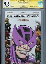 HAWKEYE Sketch cover art by AL MILGROM CGC SS 9.8 Marvel Disney Avengers