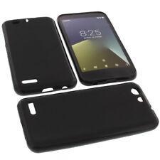 Case for Vodafone Smart E8 Cell Phone Case Protector Cover TPU Rubber Case Black