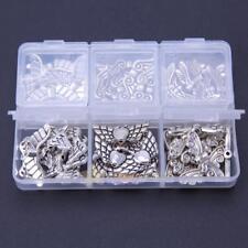 60x Butterfly Angel Wings Pendants Charms For Necklace Bracelet Jewelry DIY Case