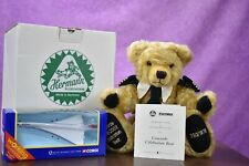 Hermann Concorde Celebration Bear Limited Edition COA Tagged & Boxed