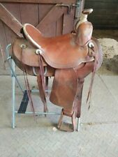 "16"" Bona Allen Western Saddle"
