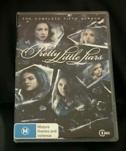 Pretty Little Liars : Season 5 (2015 : 6 Disc DVD Set) Very Good Condition R4