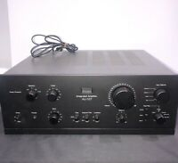 Sansui AU-517 Vintage Integrated Amplifier TESTED WORKS HiFi 37 LBS Heavy