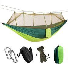 Portable Camping Hammock Double Garden Swing Mosquito Net Hammock for Patio