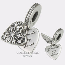 Authentic Pandora Silver Heart of Winter Dangle CZ Bead 796372CZ *WINTER 2017
