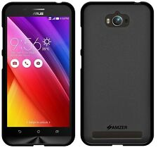 AMZER Pudding Matte TPU Skin Case Back Cover For Asus Zenfone Max ZC550KL -Black