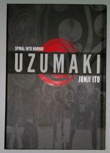 Uzumaki Hardcover Graphic Novel 3-in-1 Deluxe Edition HORROR Manga Junji Ito