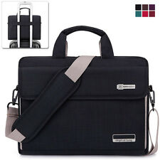 "15.6"" Laptop Notebook Sleeve Case Shoulder Bag Handbag for Lenovo Samsung Black"