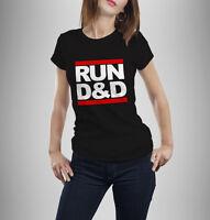 Run D&D Tshirt Dungeons and Dragons Run DMC Tshirt