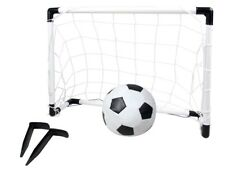 2 tlg. Soccer Set Kinder Fußballtor Garten Ball-Spiel 8611 Mini-Tor Fußball 8611