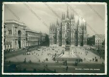 Milano Città Duomo PIEGHINE Foto FG cartolina VK2549