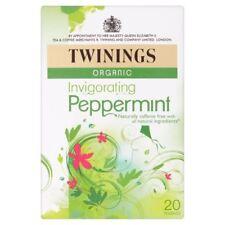 Twinings Organic Peppermint Tea Bags 20 per pack - Pack of 6