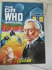 THE DR WHO ANNUAL 1965 VINTAGE BOOK  RARE DOCTOR WILLIAM HARTNELL