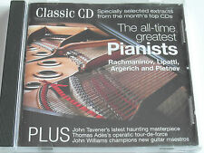Classic CD - The All-Time Greatest Pianists (CD Album) Used very good