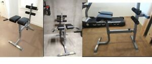 CAP Barbell Strength Roman Chair Back Abs Chest Home Gym Fitness Workout 300 lb