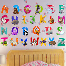 Kids Room Door Decor Removable Letter Alphabet Waterproof PVC Wall Sticker NEW