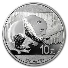 ****SPECIAL**** CHINESE SILVER PANDA - 2016 30 Gram Pure Silver Coin in Capsule