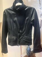 Patrizia Pepe Firenze Womens Jacket Black Size 42