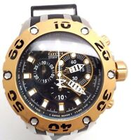 Invicta Reserve Subaqua Chronograph Men's Watch Black Gold 0908 Swiss Made