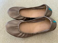NEW Tieks Size 6 Metallic Bronze EUC $195 Ballet Flats Shoes Leather Foldable
