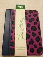 NWT Authentic VERA BRADLEY Tablet Case with Stand in Leopard Spots *$54*