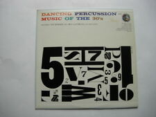 "Ted Sommer & Bill LaVorgna  ""Dancing Percussion - Music Of The 30's""  (S)"