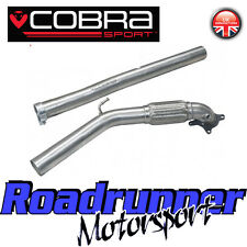 "Cobra Audi TT MK2 1.8 & 2.0 TFSi 3"" Decat Downpipe Exhaust - Removes Cat Fits OE"