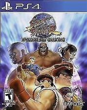 Street Fighter 30th Anniversary Collection USED SEALED Sony PlayStation 4, 2018