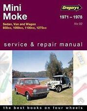 Leyland MINI Moke Workshop Repair Manual From 1971-1978 With MPN GAP04002