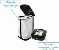 Collapsible Outdoor Portable Travel Camping Garbage Trash Waste Can Bag Holder