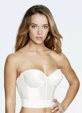 Dominique 6377 Noemi Backless Longline bra, Ivory 32A low back strapless, Bridal