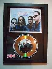 metallica    SIGNED  GOLD CD  DISC 6
