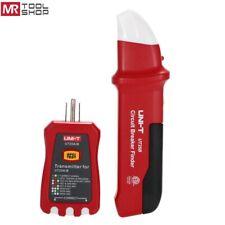 Uni-T UT25B Automatic Circuit Breaker Finder GFCI Outlet Socket Tester LED NCV