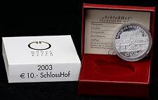Österreich 10 Euro 2003 Schloß Hof, PP