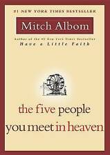 The Five People You Meet in Heaven by Mitch Albom. PB 2003 1st Edition INSPIRING