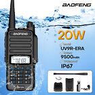 20W Baofeng UV-9R Plus Walkie Talkie VHF UHF Dual Band Handheld Two Way Radio