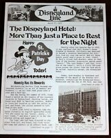 Disneyland Hotel 1977 Jack Wrather Expansion Feature w/ Photos St Patrick's Day