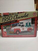 1950 Chevrolet Chevy 3100 Pickup Truck Texaco AMT 1/25 Model Car Kit Sealed