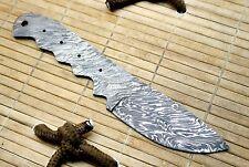SBB-62 Custom HandMade Damascus Steel Blank Blade  For Knife Making