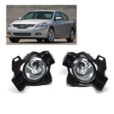 For 10-12 Nissan Altima Sedan 4DR Clear Lens Fog Lights Kit w/switch Wiring