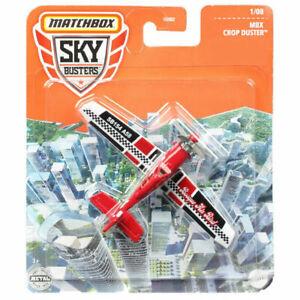 Matchbox Sky Busters Crop Duster Plane Metal Dei-cast