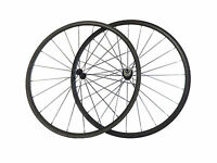 700C 24/38/50/60/88mm Tubular Carbon Wheels Road Bike Light Wheelset Fast ship