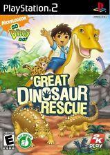 Go Diego Go! gran dinosaurio rescate PS2 PlayStation 2 Video Juego UK release