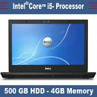 Dell Latitude E6410 - Intel Core i5 - 500 Go SSHDD - DVDRW - 4 GO DE RAM