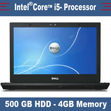 Dell Latitude E6410-Intel Core i5 - 500Gb SSHDD-DVDRW - 4 GB de RAM
