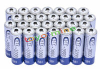 28x AA 3000mAh 1,2 V batterie Ni-MH rechargeable BTY cellule pour MP3 Jouets RC