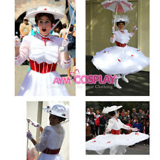 Disney-Mary Poppins dress- World dress cosplay Costume Tailor-made[G907]
